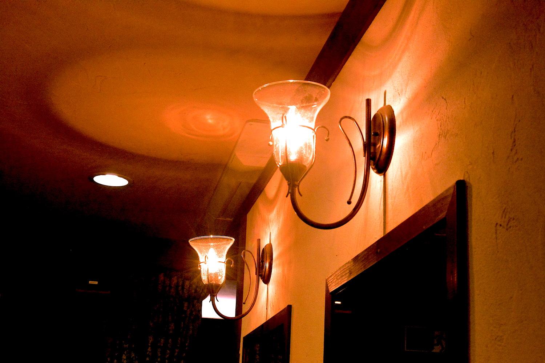 サロンのライト