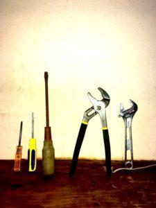 水回りに使う道具類